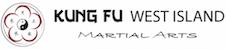 Kung Fu West Island Mobile Logo